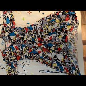 Size 4 Disney LLR Adeline Mickey Mouse dress